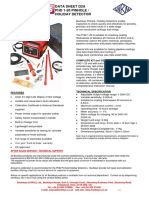 Pinhole Holiday Detector