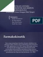 Hubungan Antara Farmakokinetik Dan Respon Farmakologi.ppt