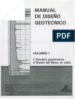 COVITUR (1987) - -Manual de Diseno Geotecnico
