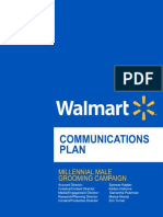 Walmart Communications Plan
