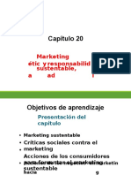 Capítulo 20 Marketing Sustentable, Ética y Responsabilidad Social