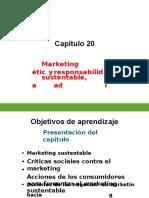Capítulo 20 Marketing Sustentable, Ética y Responsabilidad Social