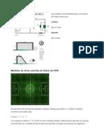 Medidas de Cancha de Futbols