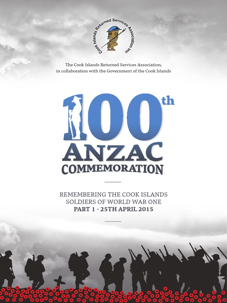 Cook Island Soldiers 100 Year Commemoration Gallipoli Campaign