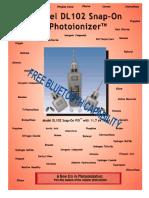 Model 102 Portable Photoionization Analyzer for Volatile Organic Compounds 6 Pg Brochure 5-11