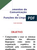 Aula 3 - Elementos Da Comunicaã‡Ãƒo e Funã‡ã•Es Da Linguagem