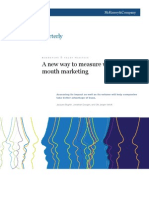 A New Way to Measure Word-Of-mouth Marketing