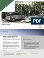 Peugeot 5008 english user manual