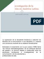 Teorías e Investigación de La Comunicación en América