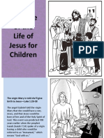 Timeline of the Life of Jesus for Children