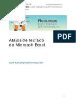 Enviando 14_Guía de Atajos de Teclado en Excel