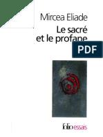 Eliade, Mircea - Le Sacré Et Le Profane