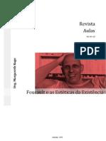 Revista Aulas Dossie 06 Foucault e as Esteticas Da Exist en CIA