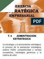 Gerencia Estratégica Empresarial Tema4