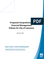 Lawrence Financial Management Policies (FINAL DRAFT) 2-25-16