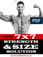 The 7X7 Strength and Size Solution
