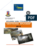 Triptico Geotecnia Aplicada 2016