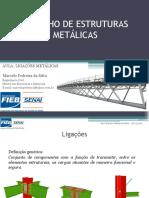 Desenho de Estruturas Metálicas A03 - Ligações