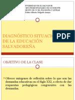 Diagnostico Situacional de La Educacion Salvadoreña