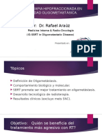 rt hipofracconada en enfermedad oligometastasica