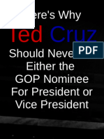 Why Ted Cruz Cannot Win