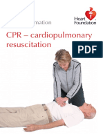 CPR Cardiopulmonary Resuscitation 1