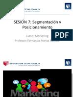 SEGMENTACION Y POSICIONAMIENTO DE MERCADO