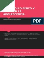 Desarrollo Fìsico y Salud en La Adolescencia