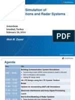 Communication Radar Systems Design and Simulation