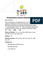 parent newsletter 14