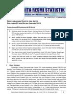 Perkembangan Ekspor Impor Sulut Bulan Januari 2016