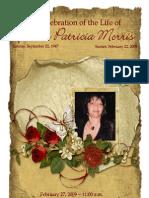 Morris Funeral Program