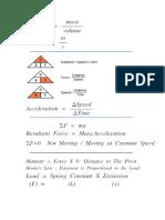 Physics Science All Formulas Part 1