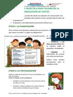 Procesos Didacticos de Produccion de Textos