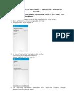 Panduan Seting Email Dan Aplikasi Intranet Di Hp