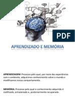 Aprendizado e Memória - Slides(NEUROCIENCIAS_Bear)