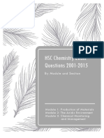 HSC Chemistry Exam Questions- By Module and Section .pdf
