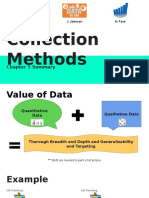Data Collection Methods Chapter 5