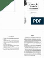 Libro - Temas de Filosofia (Castro de Cabanillas)