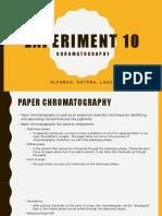 EXP10 Chromatography