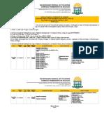 UFT Ratificação do edital