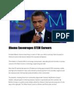obamaencouragesstemcareers