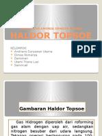 Pembuatan Amonia Dengan Proses Haldor Topsoe