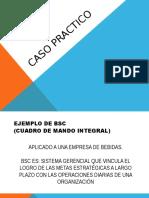 Caso Practico balanced score card
