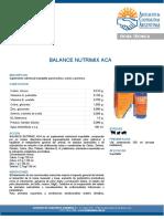 Balance Nutrimix Aca