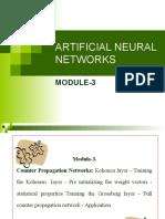 ARTIFICIAL NEURAL NETWORKS-moduleIII.ppt