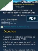 Erwin Chiquete. Mecanismos de resistencia al interferón por el virus de la hepatitis C (VHC)