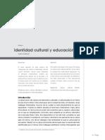 Identidad Cultural y Educacion