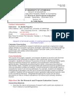 caap 6617 course outline 2014 piquette