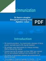 Rh Isoimmunization dr samira